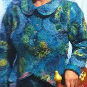 """Одежда ручной работы. Ярмарка Мастеров - ручная работа костюм """"Шерстяная Бирюза"""". Handmade."""