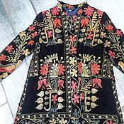 Одежда ручной работы. Ярмарка Мастеров - ручная работа Пальто с вышивкой. Скидка!. Handmade.