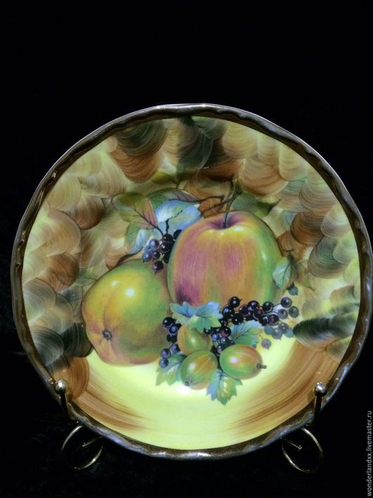 Винтажная посуда. Ярмарка Мастеров - ручная работа. Купить Тарелка, Англия. Handmade. Комбинированный