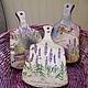 Кухня ручной работы. Ярмарка Мастеров - ручная работа. Купить Доски разделочные Лавандовое настроение ( массив дерева). Handmade.