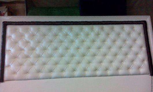 Мебель ручной работы. Ярмарка Мастеров - ручная работа. Купить Кровати  с мягким изголовием. Handmade. Разноцветный, изголовие, Мебель, ткань