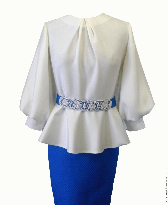 Белые Женские Блузки Купить