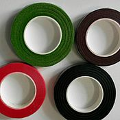 Материалы для творчества handmade. Livemaster - original item Tape ribbon floral 12 mm with an adhesive layer, the winding 27 m. Handmade.