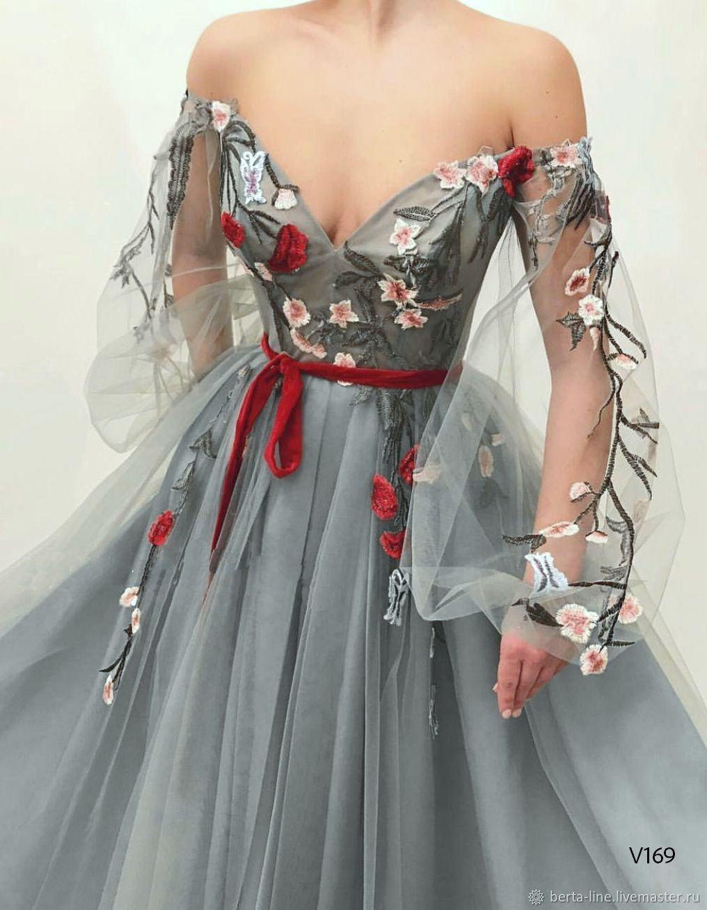 Вечернее платье на выпускной V169, Платья, Москва,  Фото №1