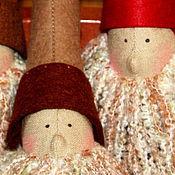 Куклы и игрушки ручной работы. Ярмарка Мастеров - ручная работа Санта в стиле Тильда. Handmade.