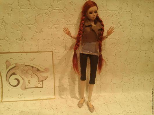 Коллекционные куклы ручной работы. Ярмарка Мастеров - ручная работа. Купить Шарнирная кукла Соня. Handmade. Бежевый, бжд