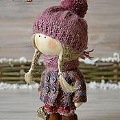 Куклы и игрушки ручной работы. Ярмарка Мастеров - ручная работа куколка малышка Маня. Handmade.