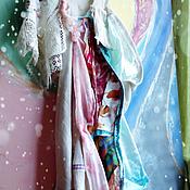 Одежда ручной работы. Ярмарка Мастеров - ручная работа Платье РАДУЖНОЕ БОХО. Handmade.
