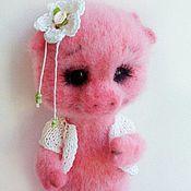 Куклы и игрушки ручной работы. Ярмарка Мастеров - ручная работа Свинка Роззи. Handmade.