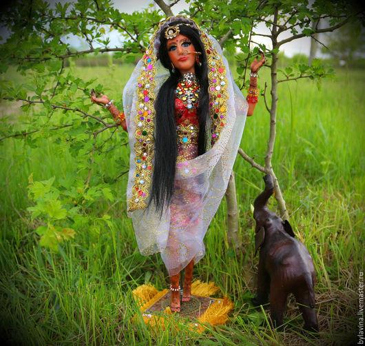 """Коллекционные куклы ручной работы. Ярмарка Мастеров - ручная работа. Купить Авторская кукла """"Индианка"""". Handmade. Разноцветный, handmade"""