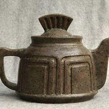 """Посуда ручной работы. Ярмарка Мастеров - ручная работа Чайник """"Легионер"""". Handmade."""