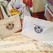 Подарки к праздникам handmade. Livemaster - original item Bag linen gift pack. Handmade.