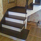 Для дома и интерьера ручной работы. Ярмарка Мастеров - ручная работа Деревянная лестница. Handmade.