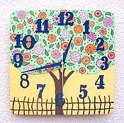 Для дома и интерьера handmade. Livemaster - original item Wall clock Tree Tale - handmade watches, children`s bedroom. Handmade.