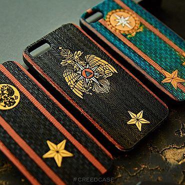 Подарки к праздникам ручной работы. Ярмарка Мастеров - ручная работа Чехол для айфон. Handmade.