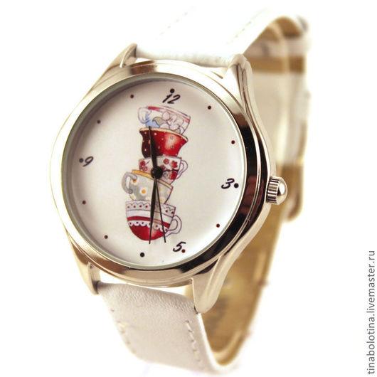 Часы ручной работы. Ярмарка Мастеров - ручная работа. Купить Дизайнерские наручные часы 5 o clock. Handmade.