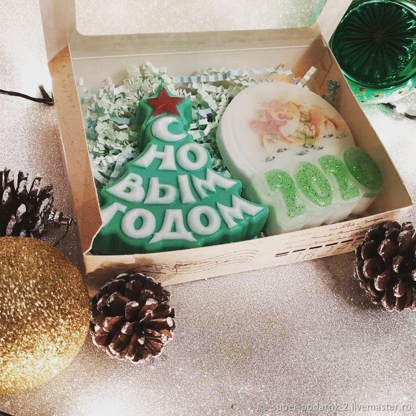 Мыло ручной работы, Новогодние композиции, Мытищи,  Фото №1