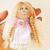 Куклы и игрушки ручной работы. Ярмарка Мастеров - ручная работа Ангелок на счастье. Handmade.