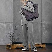Одежда handmade. Livemaster - original item Suit knitted Dust Silver. Handmade.