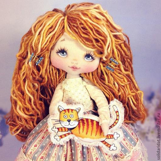 Ароматизированные куклы ручной работы. Ярмарка Мастеров - ручная работа. Купить Машенька. Handmade. Коллекционная кукла, лучший подарок, бусины