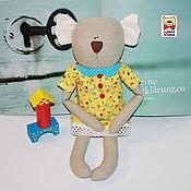 Куклы и игрушки ручной работы. Ярмарка Мастеров - ручная работа Коала игрушка интерьерная текстильная для детей. Handmade.