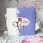 Фотоальбомы ручной работы. Ярмарка Мастеров - ручная работа Альбом для фото малышки / фотобук. Handmade.