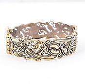 Украшения ручной работы. Ярмарка Мастеров - ручная работа Кельтский орнамент, браслет из бронзы, мужской или женский браслет. Handmade.