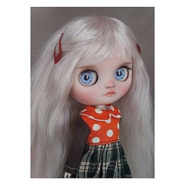 Куклы и игрушки ручной работы. Ярмарка Мастеров - ручная работа ООАК миди блайз Нина (тбл). Handmade.