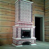 Для дома и интерьера ручной работы. Ярмарка Мастеров - ручная работа Боярский камин. Handmade.