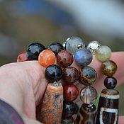 Фен-шуй и эзотерика handmade. Livemaster - original item Set of bracelets-Personally selected talismans, rare stones. Handmade.
