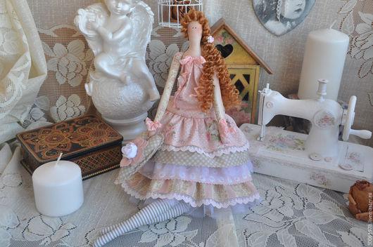 """Куклы Тильды ручной работы. Ярмарка Мастеров - ручная работа. Купить Кукла в стиле Тильда """"Тонкая штучка!"""". Handmade."""