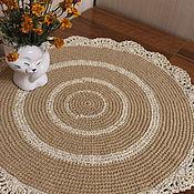 Для дома и интерьера handmade. Livemaster - original item Cloth made of jute and cotton with lurex.. Handmade.