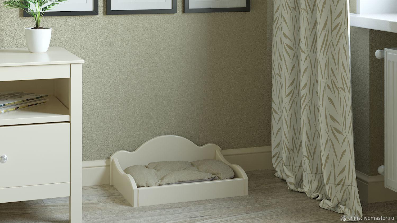 """Кроватка с прочной лежанкой для собак """"Лотос"""" маленькая, Лежанки, Солнечногорск,  Фото №1"""