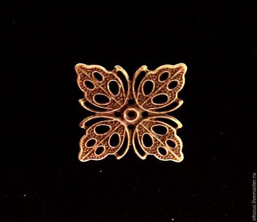 Арт. В66079 Декоративный элемент. Цвет античная бронза.