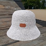 handmade. Livemaster - original item Raffia Panama Hat. Handmade.