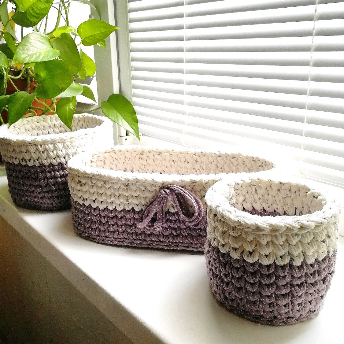 A set of interior baskets for creating a stylish decor and storage, Basket, Voronezh,  Фото №1