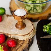 Посуда ручной работы. Ярмарка Мастеров - ручная работа Солонка на ножке. Handmade.