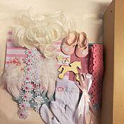 Материалы для творчества ручной работы. Ярмарка Мастеров - ручная работа Набор для изготовления куклы №9. Handmade.