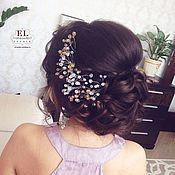 Прически с украшениями для волос своими руками
