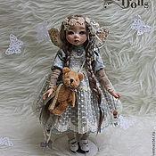 """Куклы и игрушки ручной работы. Ярмарка Мастеров - ручная работа Кукла в смешанной технике """"Мотылек"""". Handmade."""