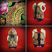 """Одежда ручной работы. Ярмарка Мастеров - ручная работа Детская """"Жилетка"""". Handmade."""