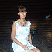 """Одежда ручной работы. Ярмарка Мастеров - ручная работа платье  """"Ваниль"""". Handmade."""