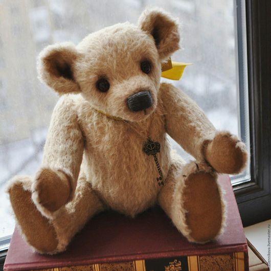 Мишки Тедди ручной работы. Ярмарка Мастеров - ручная работа. Купить Медведь Эльза (34см). Handmade. Бежевый, teddybear, медведь
