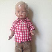 Винтаж ручной работы. Ярмарка Мастеров - ручная работа кукла мальчик, Шильдкрет. Handmade.
