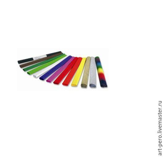 Материалы для флористики ручной работы. Ярмарка Мастеров - ручная работа. Купить Гофрированная бумага (креп бумага, гофра) выбрать цвет. Handmade.
