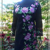 """Одежда ручной работы. Ярмарка Мастеров - ручная работа Платье """"Розы в ночи"""". Handmade."""