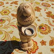 """Для дома и интерьера ручной работы. Ярмарка Мастеров - ручная работа Домовой из дерева """"Мой дом-полная чаша"""". Handmade."""