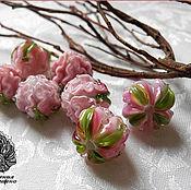 Материалы для творчества ручной работы. Ярмарка Мастеров - ручная работа Бутон пиона розовой. Handmade.