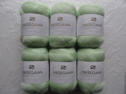 Вязание ручной работы. Ярмарка Мастеров - ручная работа. Купить Пряжа Hasegawa Seika № 23 Green. Handmade.