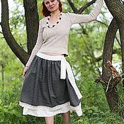 Одежда ручной работы. Ярмарка Мастеров - ручная работа Шерстяная юбка в стиле бохо. Handmade.